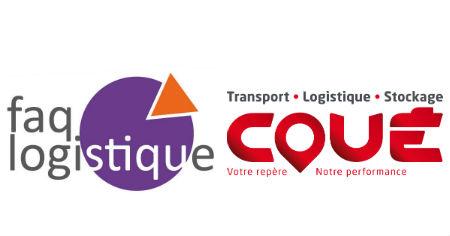 Transports Coue est désormais dans FAQ logistique