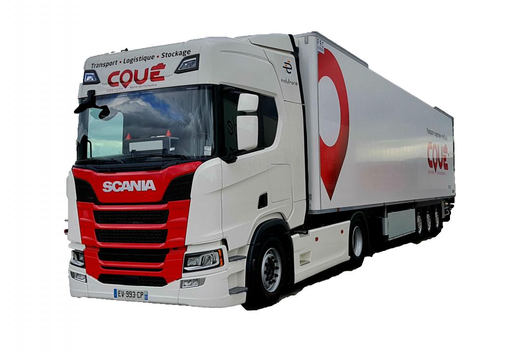 Transports Coué camion Scania