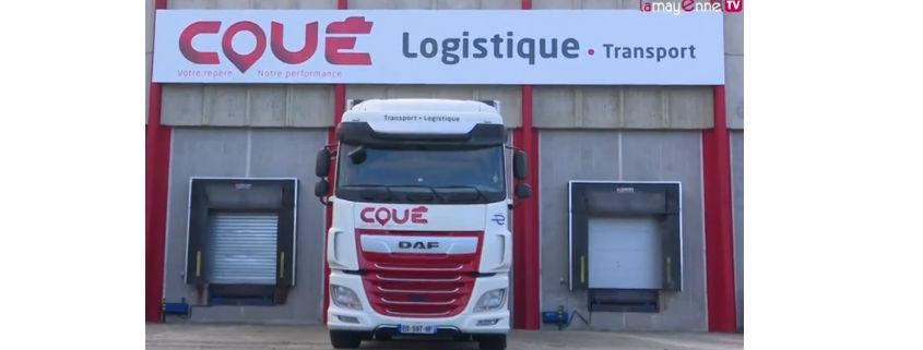 Transports Coue Nouvelle Plateforme Logistique à Laval Mayenne