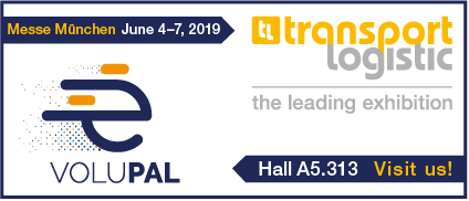 Volupal au Salon Transport Logistic du 4 au 7 juin en 2019 à Munich