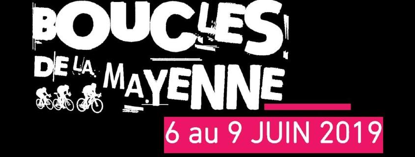 Transports Coué sponsor aux Boucles de la Mayenne 2019