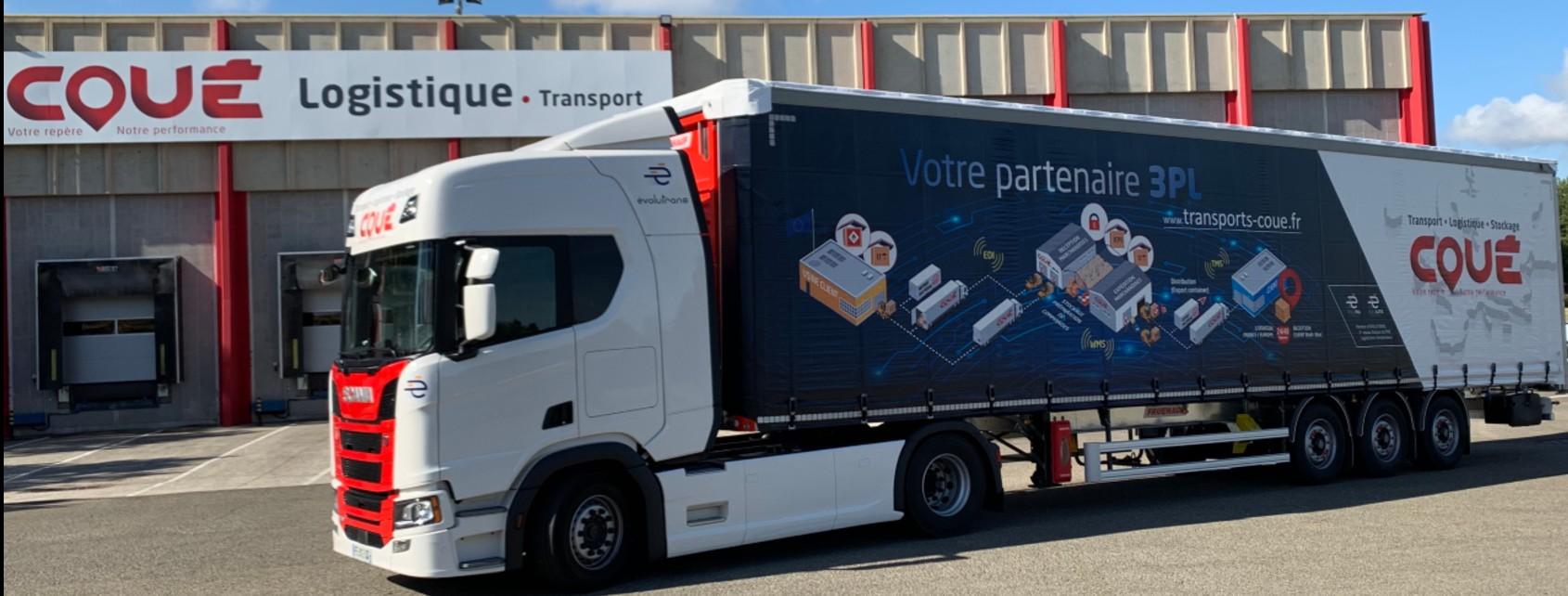 Savoir Faire Logistique en image sur les Semis Transports Coué