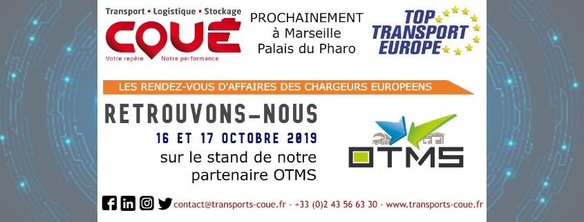 Transports Coue a Top Transport 2019 avec OTMS
