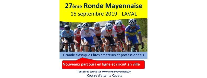 Transport Coué participent à la course cycliste La Ronde Mayennaise 2019
