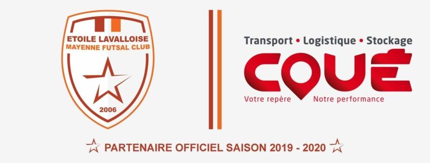 Transports Coué soutiennent l'Etoile Lavalloise Mayenne futsal Club