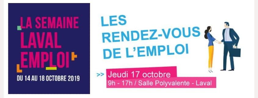 Transports Coué au RDV de l'emploi le 17/10/2019