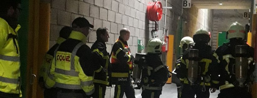 Transports Coué exercices incendie entreprot ICPE