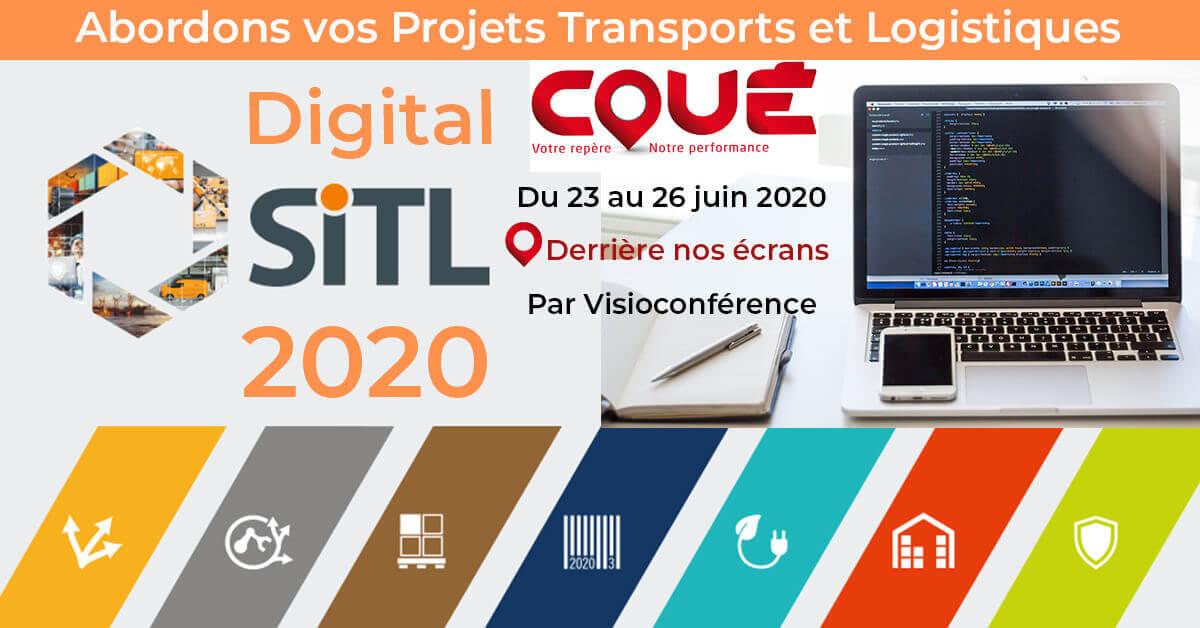 Transports Coué au SITL 2020 en version digital derriere nos ecrans slider