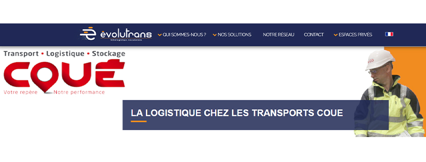 Transports Coue Article Evolutrans Logistique Coue