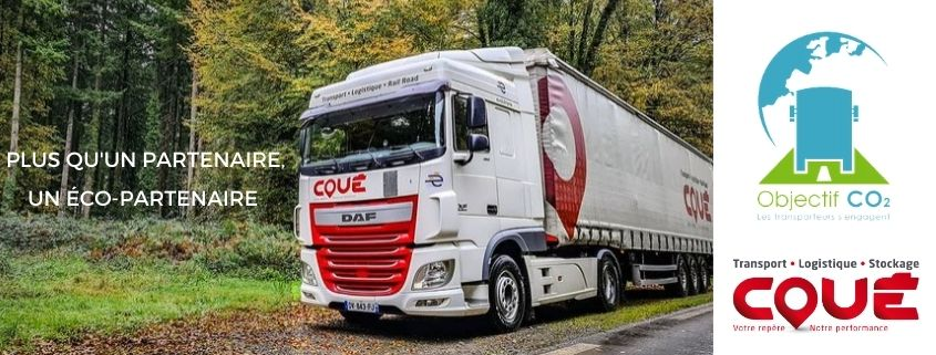 Transports Coué get involved in the CO2 Label certification process
