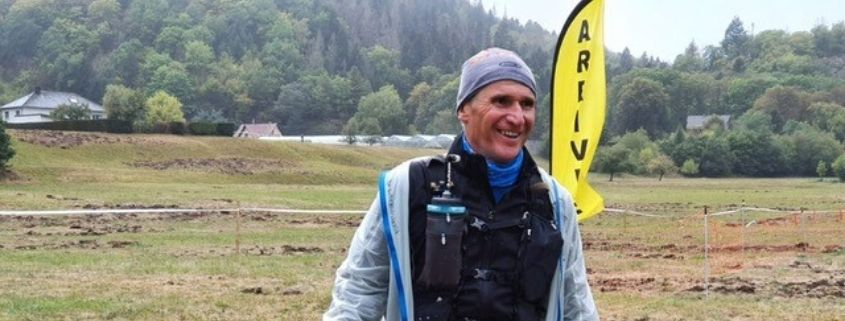 Frédéric Serre keeps going with his training for the UltraTrail Diagonal des Fous
