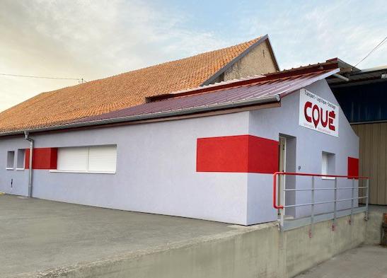 L'agence Transports Coué à Balgau en Alsace profite de nouveaux bureaux