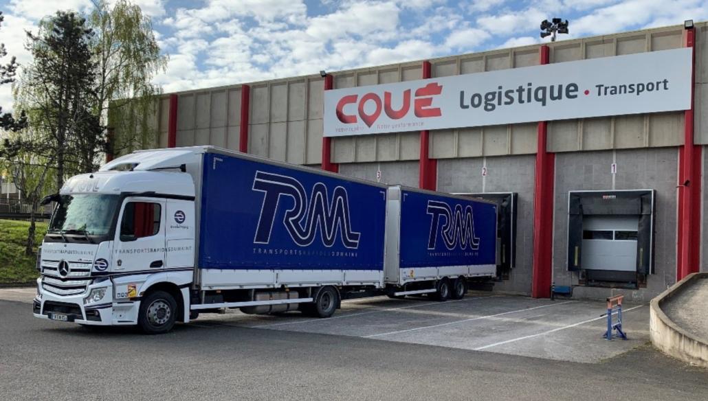 L'alliance des Transports Coué et du Groupe TRM