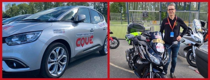 Les Transports Coué partenaire des Boucles de la Mayenne 2021
