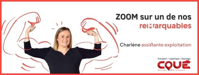 Zoom sur un des remarquables, Charlène, assistante exploitation