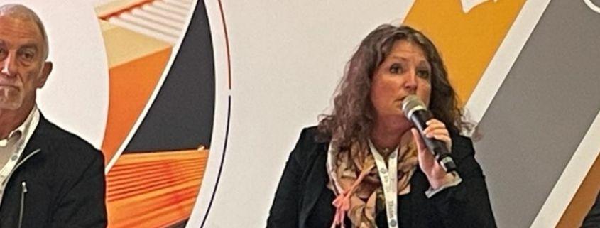 Annabelle Courteille explain the new logistic reglementation