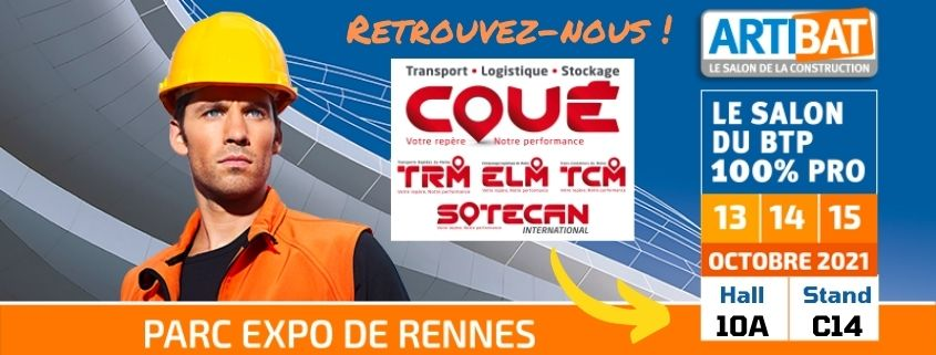 ransports Coué at the Salon Artibat 2021