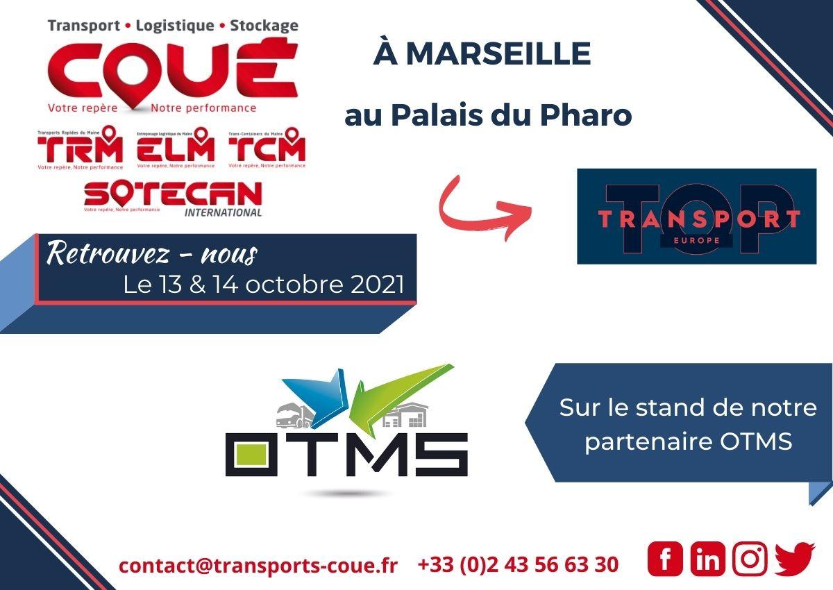 Groupe Coué au salon Top Transport Europe avec OTMS