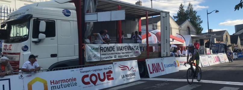 Transports Coué partner of the Ronde Mayennaise 2021