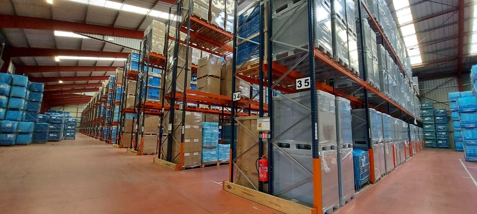 Entrepôt logistique Grand Volume produits sensibles