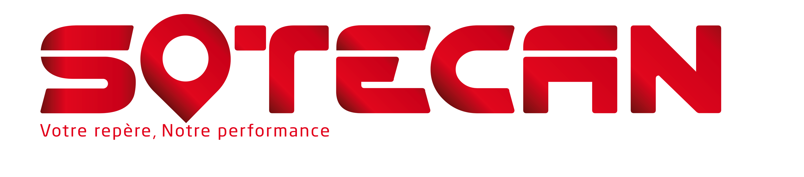 Logo Sotecan International avec texte en blanc