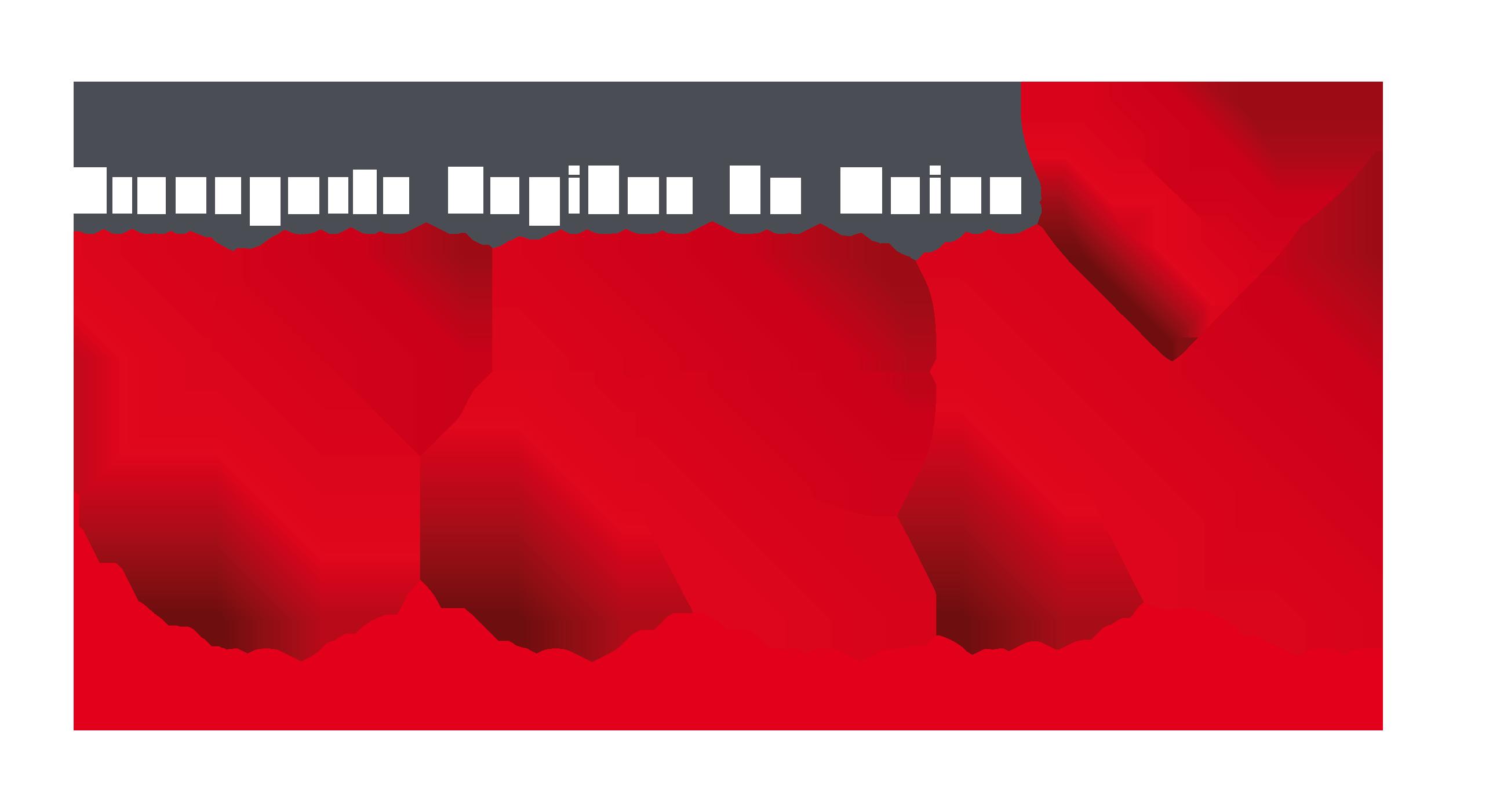 Logo TRM avec texte en blanc