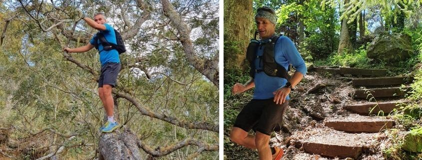 Fred at the Diagonale des Fous in Reunion Island in 7 days